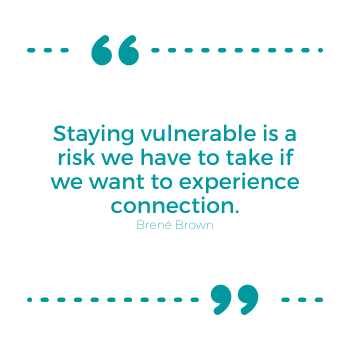 I give up quote on vulnerability